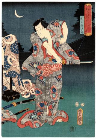 Utagawa Kunisada THE TWENTY-THIRD NIGHT