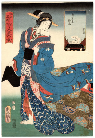 Utagawa Kunisada FULL BLOOM IN THE NEW YOSHIWARA