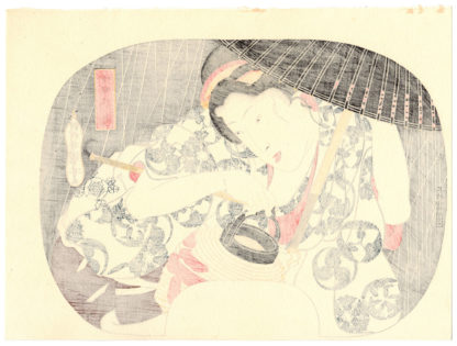 Utagawa Kuniyoshi TEN DAYS RAIN