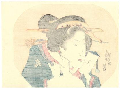 Utagawa Kunisada CLOSE-UP OF A BIJIN