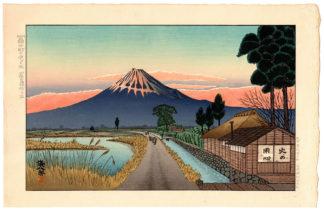 Okuyama Gihachiro SUNSET IN FUJICHO