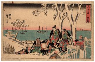 THE INCENSE OFFERING (Utagawa Hiroshige)