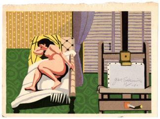 ARTIST'S NUDE (Sekino Junichiro)