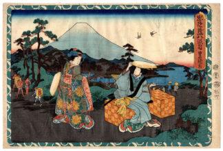 KONAMI'S BRIDAL JOURNEY (Utagawa Kunisada)