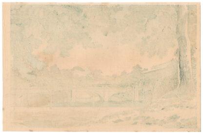 NIJUBASHI BRIDGE (Tsuchiya Koitsu)