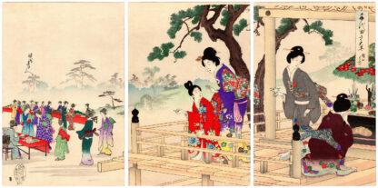 BUDDHA'S BIRTHDAY (Toyohara Chikanobu)