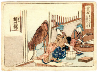 KANAYA (Katsushika Hokusai)