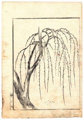 WILLOW TREE (Kitagawa Utamaro)
